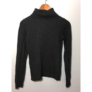 J CREW Women's Turtleneck WOOL Blend Sweater